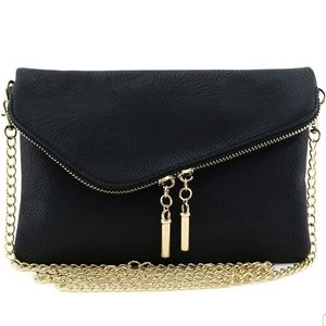 Women envelope wristlet clutch